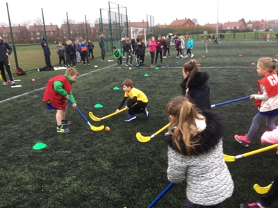 Year 3 and Year 4 hockey and netball festival