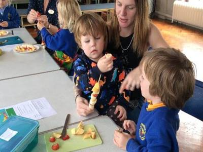 Parent and Child Cookery Workshop