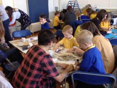 Reception Adult and Child Halloween Craft Workshop