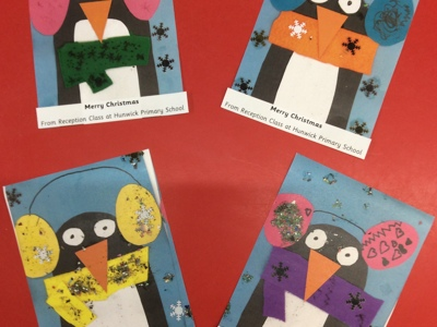 Reception Christmas Posters
